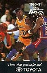 1990-91 Los Angeles Lakers