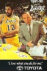 1991-92 Los Angeles Lakers